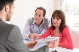 Aufgabe Immobilienmakler Kundengespräch