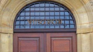 Foto Grafik Eingang Tür Amtsgericht