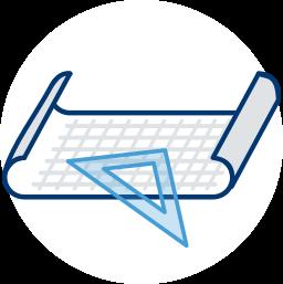 Grafik: Plan, Zeichnung, Geo-Dreieck, Lineal - Amtlicher Lageplan