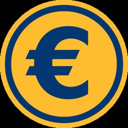 Grafik: Euro-Symbol, Münze ~ Grundstücksvermessung Kosten