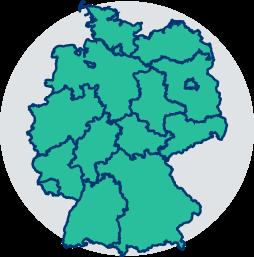 deutschland karte bundeslaender gesetze