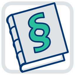 Grafik-Icon Gesetzbuch BGB immoeinfach.de Belastungsvollmacht im Kaufvertrag