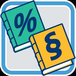 Grafik Icon Steuerliche Rechtliche Beratung