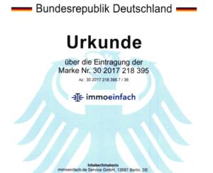 Grafik Marke Deutsches Patentamt München