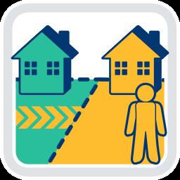 Wegerecht Grundstück Haus Immobilie
