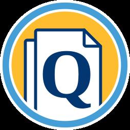 Grafik: Q Dokument Icon ~ Qualifizierter Alleinauftrag