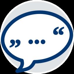 Sprechblase Vorlesen Vertragstext