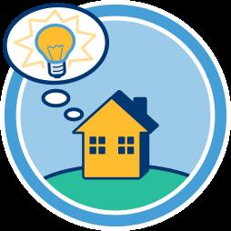 Grafik Wissen wissenswertes zu Immobilien