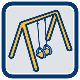 2D Grafik Icon Schaukel