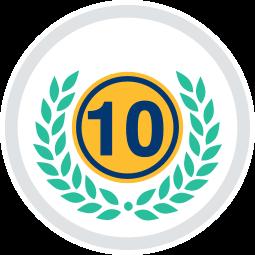 Grafik Icon Zehn Jahre