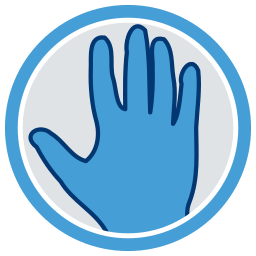 2D Grafik Icon Hand