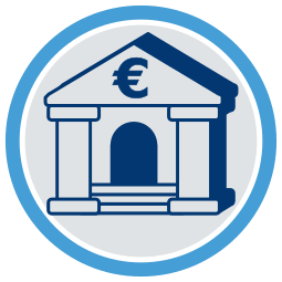 Icon Grafik Bank Kreditinstitut