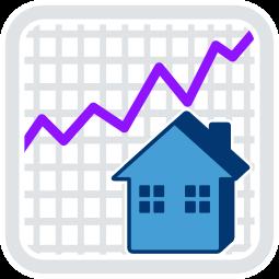 Grafik Icon Graph Kurs ZickZack KurveHaus Immobilie