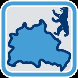 Grafik Icon Land Berlin Bär