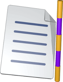 Icon 3D Grafik Dokument