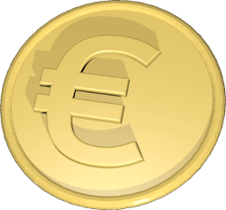 Grafik Icon Euro Münze