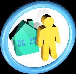 Icon Grafik Haus Eigentümer