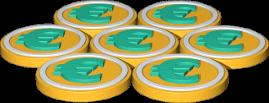3D Grafik Icon Euromünzen