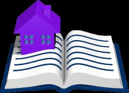 Icon Grafik Haus Grundbuch