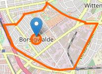 Karte Borsigwalde Berlin osm.org
