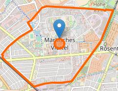 Berlin Maerkisches-Viertel Karte osm.org