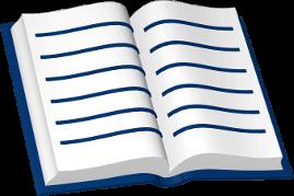 Icon 3D Grafik Buch aufgeschlagen