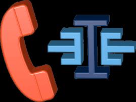 3D Icon Grafik Telefonhörer Logo Immoeinfach.de