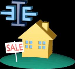 Haus Grundstück zu Verkaufen Schild ImmoEinfach-Logo