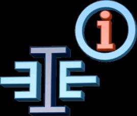 3D Icon Grafik Logo immoeinfach Informationen