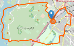 landkarte charlottenburg gruenewald