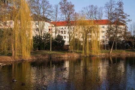 suedpark wasser enten berlin immobilien wohnanlage