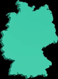 Karte Grafik 3D Deutschland BRD