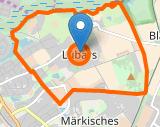 Grafik Karte Berlin Reinickendorf Lübars osm.org