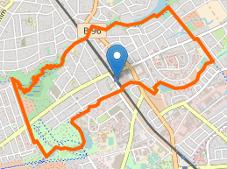 map waidmannslust markierung