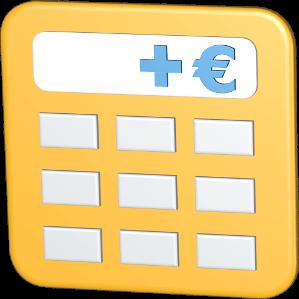 Grafik Icon 3D Taschenrechner