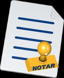 Dokument Notar Stempel