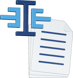 Grafik Icon 3D Dokument Logo Immoeinfach.de