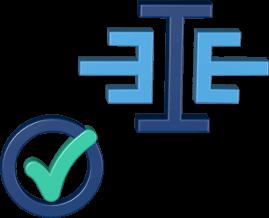Grafik Icon 3D Logo immoeinfach.de check