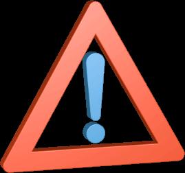 stop verkehrszeichen ausrufezeichen