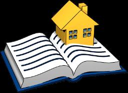 3D Grafik Grundbuch Immobilie