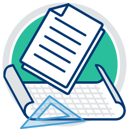 Grafik Icon Plan Dokumente