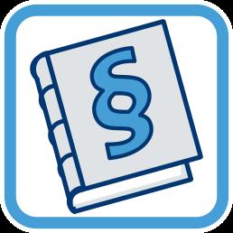 Grafik Icon Gesetzbuch