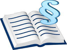 3d Grafik Icon Gesetzbuch