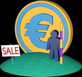 3D Icon Grafik Grundstück verkaufen Gutachter Vergleichswertverfahren