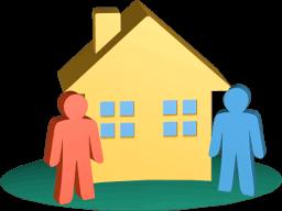 Icon 3D Grafik Immobilie Ehepartner
