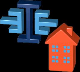 Grafik Immoeinfach Logo Haus