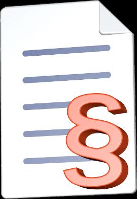 Icon Dokument Paragraphenzeichen