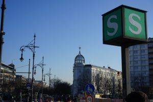 sbahn stadtion berlin halensee zeichen laternen