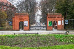 botanischergarten berlin steglitz eingangstor