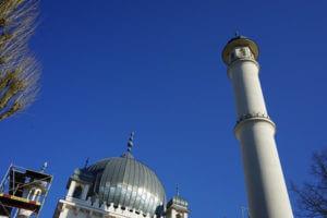 berlin wilmersdorf moschee turm islam